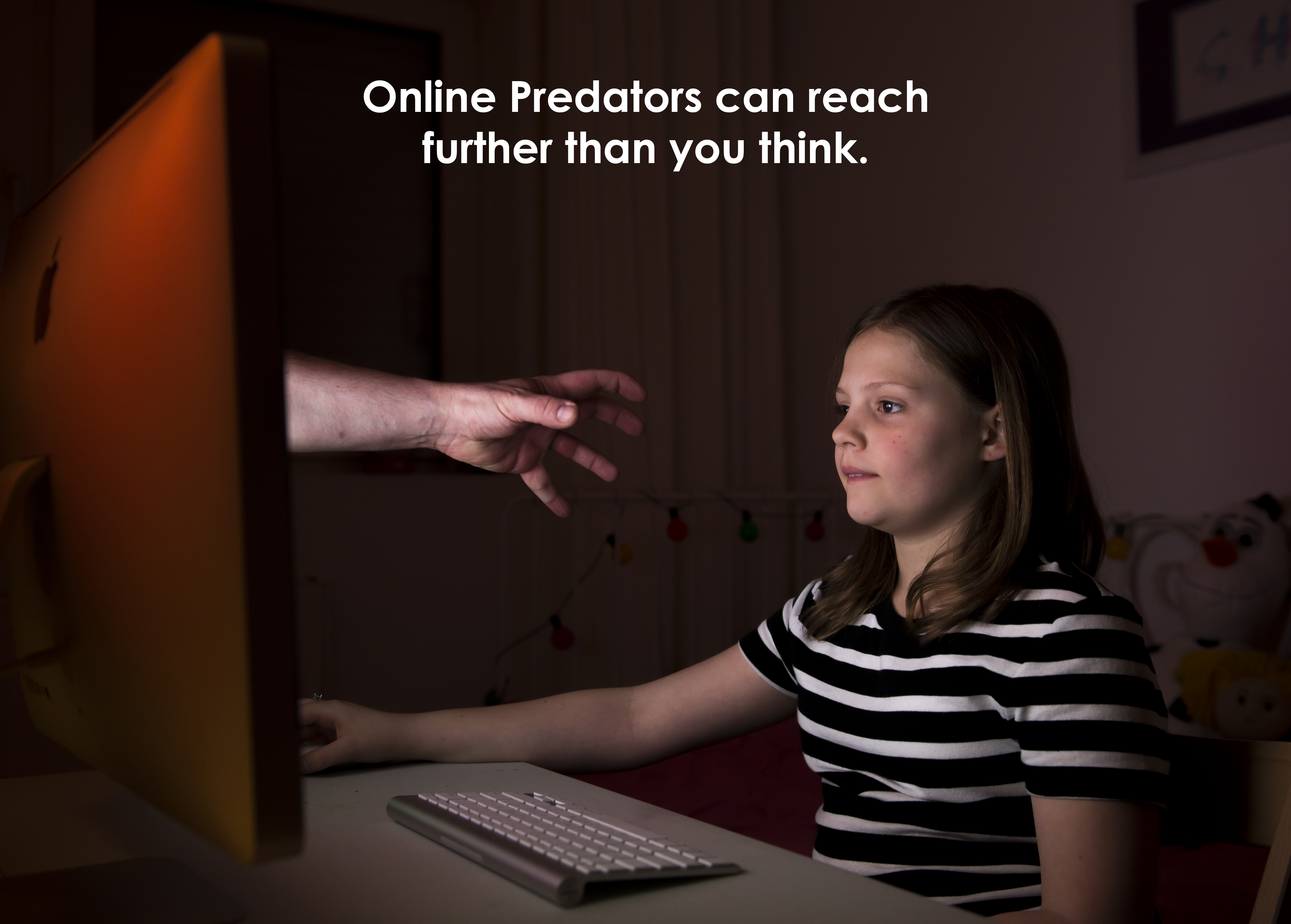 What is an online sexual predator