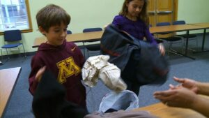 9-Year-Old Boy Spreads Warmth to Homeless Families Credit: CBS